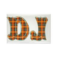 DJ Dee Jay Rectangle Magnet (10 pack)