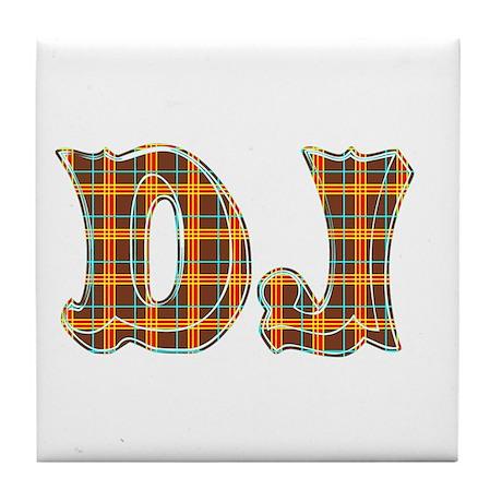 DJ Dee Jay Tile Coaster