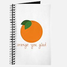 Orange You Glad Journal