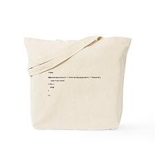 <?php ?> Tote Bag