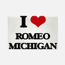 I love Romeo Michigan Magnets