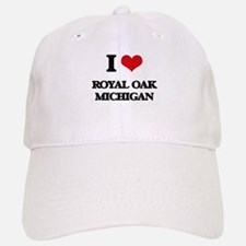 I love Royal Oak Michigan Baseball Baseball Cap