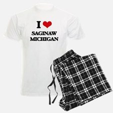 I love Saginaw Michigan Pajamas