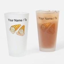 Cannoli (Custom) Drinking Glass