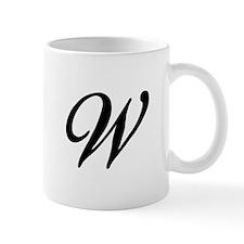 W-Bir black Mugs