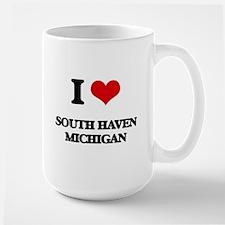 I love South Haven Michigan Mugs