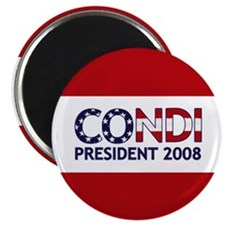 CONDI PRESIDENT 2008 Magnet