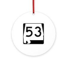 Route 53, Alabama Ornament (Round)