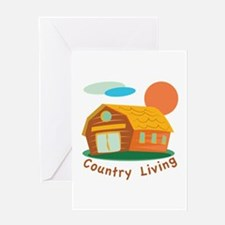 Country Living Greeting Cards