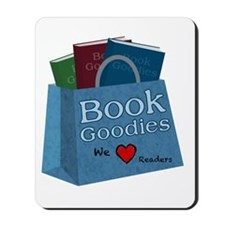 BookGoodies Heart Readers Mousepad