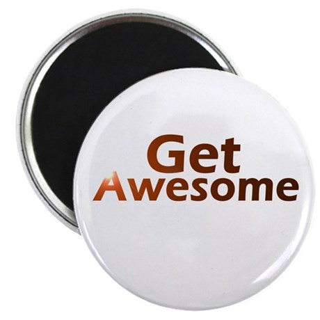 """Get Awesome 2.25"""" Magnet (100 pack)"""