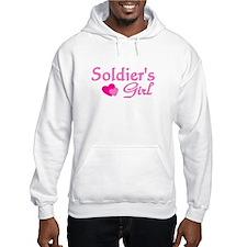 Soldier's Girl - Pink Hoodie