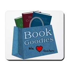 BookGoodies Heart Readers Mousepad