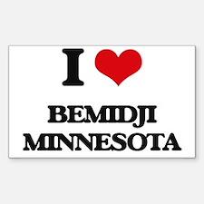 I love Bemidji Minnesota Decal