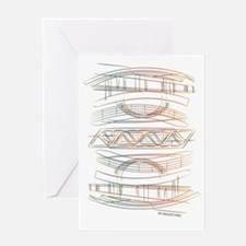 Cool Fineart Greeting Card