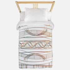 Cute Architects Twin Duvet