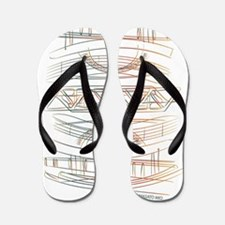 Cute Architect Flip Flops