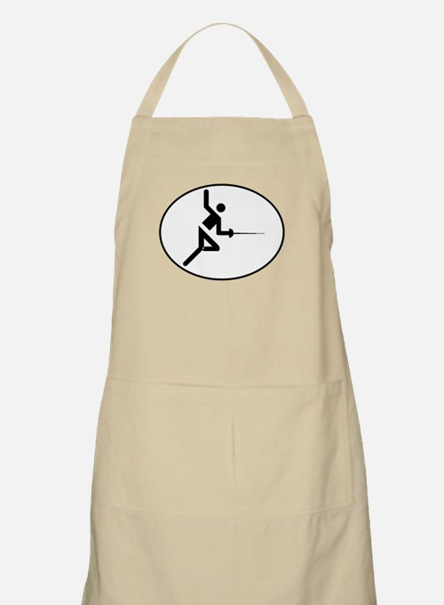 Fencing Oval Apron