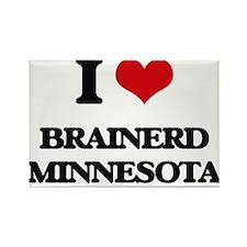 I love Brainerd Minnesota Magnets