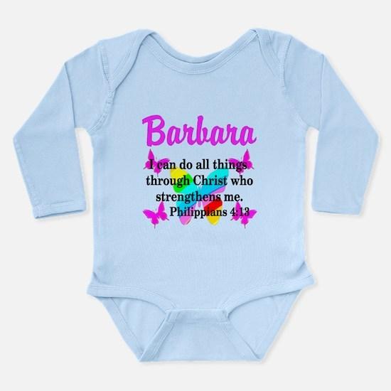 PHILIPPIANS 4:13 Long Sleeve Infant Bodysuit