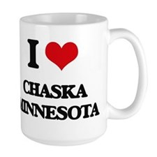 I love Chaska Minnesota Mugs