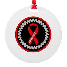 Red Awareness Hope Ribbon Ornament