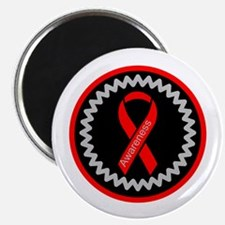 Red Awareness Hope Ribbon Magnets