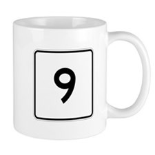 Route 9, Massachusetts Mug