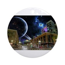 downtown san diego Ornament (Round)