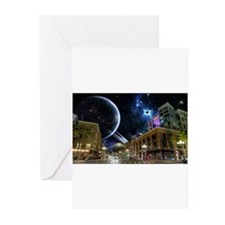 downtown san diego Greeting Cards