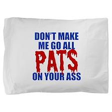 New England Football Pillow Sham