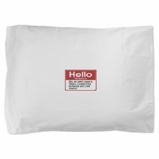 my-name-is-bill-10x10.png Pillow Sham