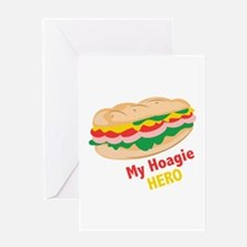 Hoagie Hero Greeting Cards