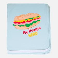 Hoagie Hero baby blanket