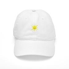 Happy Sunshine Baseball Baseball Cap