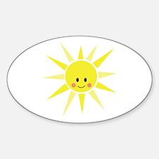 Happy Sunshine Decal