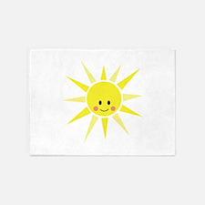 Happy Sunshine 5'x7'Area Rug