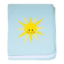 Happy Sunshine baby blanket