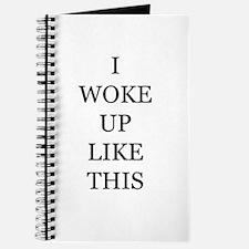 I woke up like this Journal