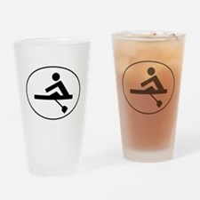 Rower Oval Drinking Glass