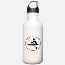 Rower Oval Water Bottle