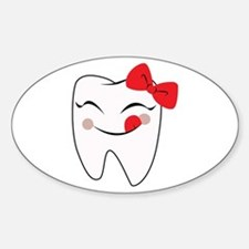 Girly Tooth Decal