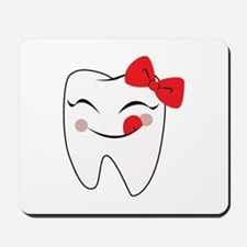 Girly Tooth Mousepad