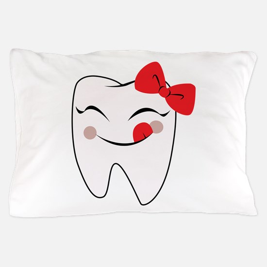 Girly Tooth Pillow Case