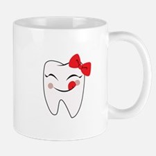 Girly Tooth Mugs
