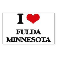 I love Fulda Minnesota Decal
