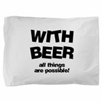 FIN-beer-all-things... Pillow Sham