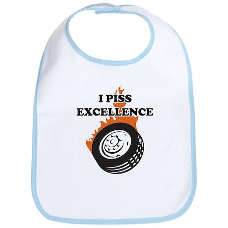 I Piss Excellence Bib