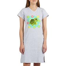 Summertime Sea Turtle Women's Nightshirt