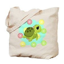 Summertime Sea Turtle Tote Bag
